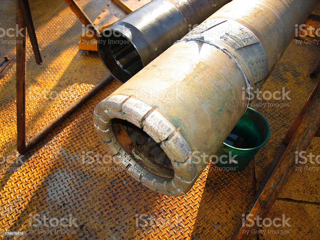 Diamond Drill Bit 003 stock photo