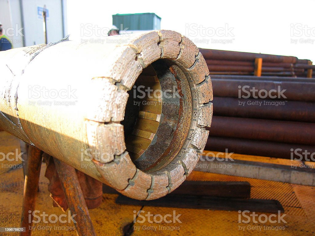 Diamond Drill Bit 004 stock photo