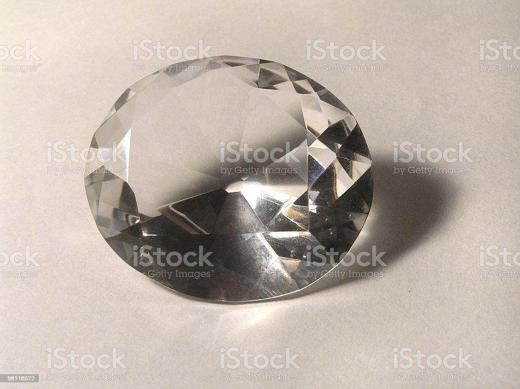 diamond facet royalty-free stock photo