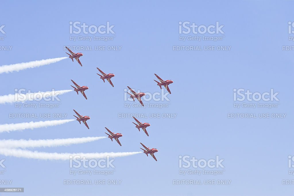 Diamond Formation royalty-free stock photo