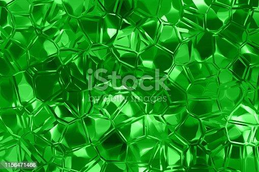 Diamond Green Emerald Crystal Texture Background Abstract Quartz Mineral Gemstone Pattern Fractal Fine Art Pretty Computer Graphic