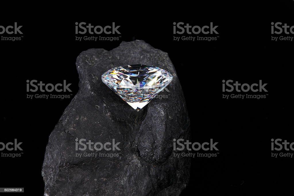 Diamond In The Rough Stock Photo - Download Image Now - iStock