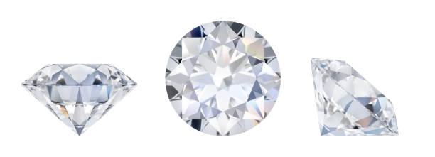 Cтоковое фото diamond in three dimensions