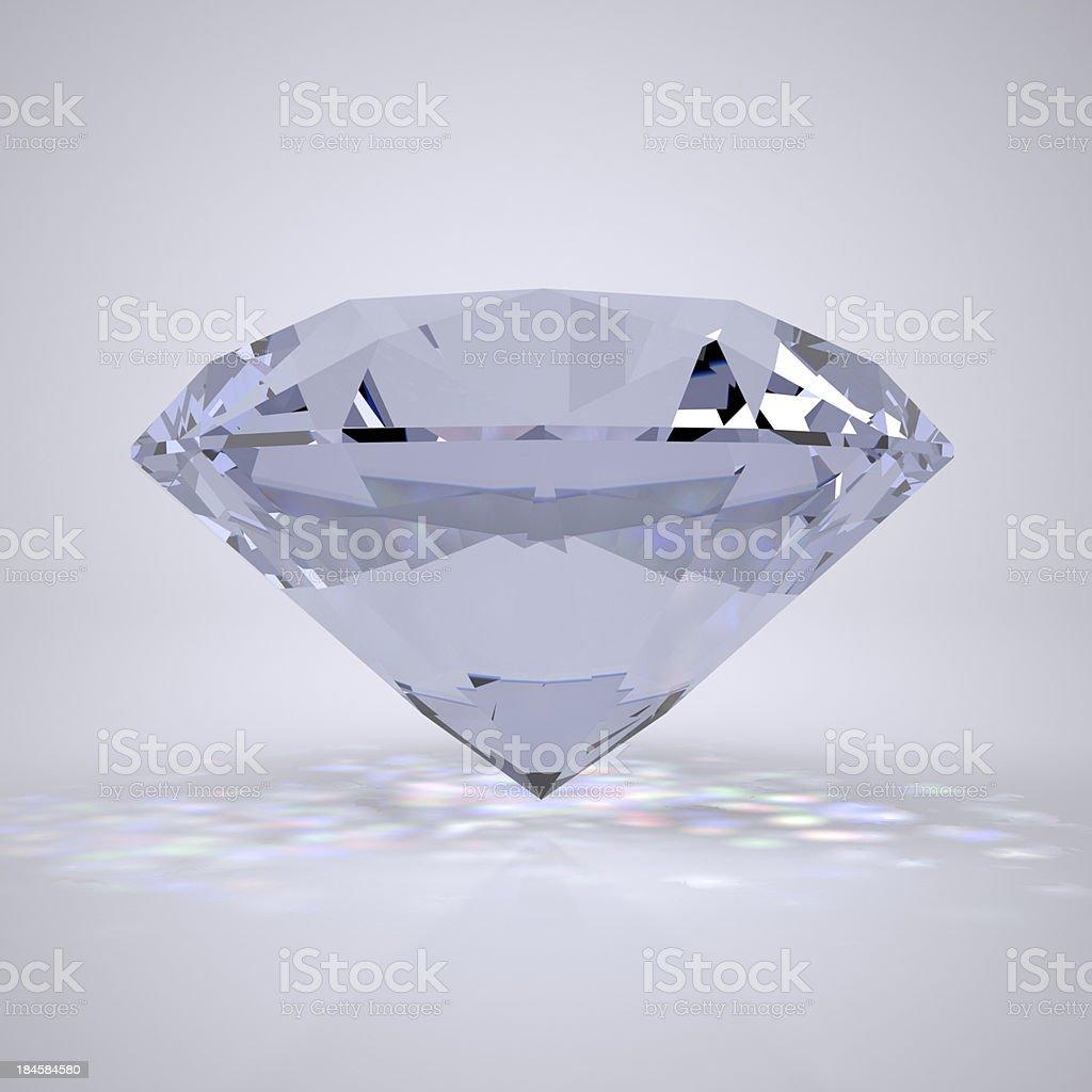 Diamond jewel royalty-free stock photo