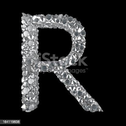 583978558istockphoto Diamond Letter R 164119838