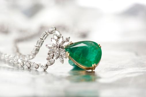 Diamond Necklace.