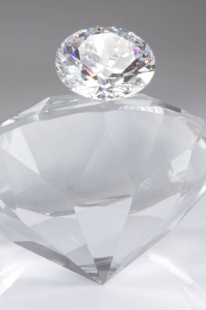 diamond on top - dazzlingly stock pictures, royalty-free photos & images