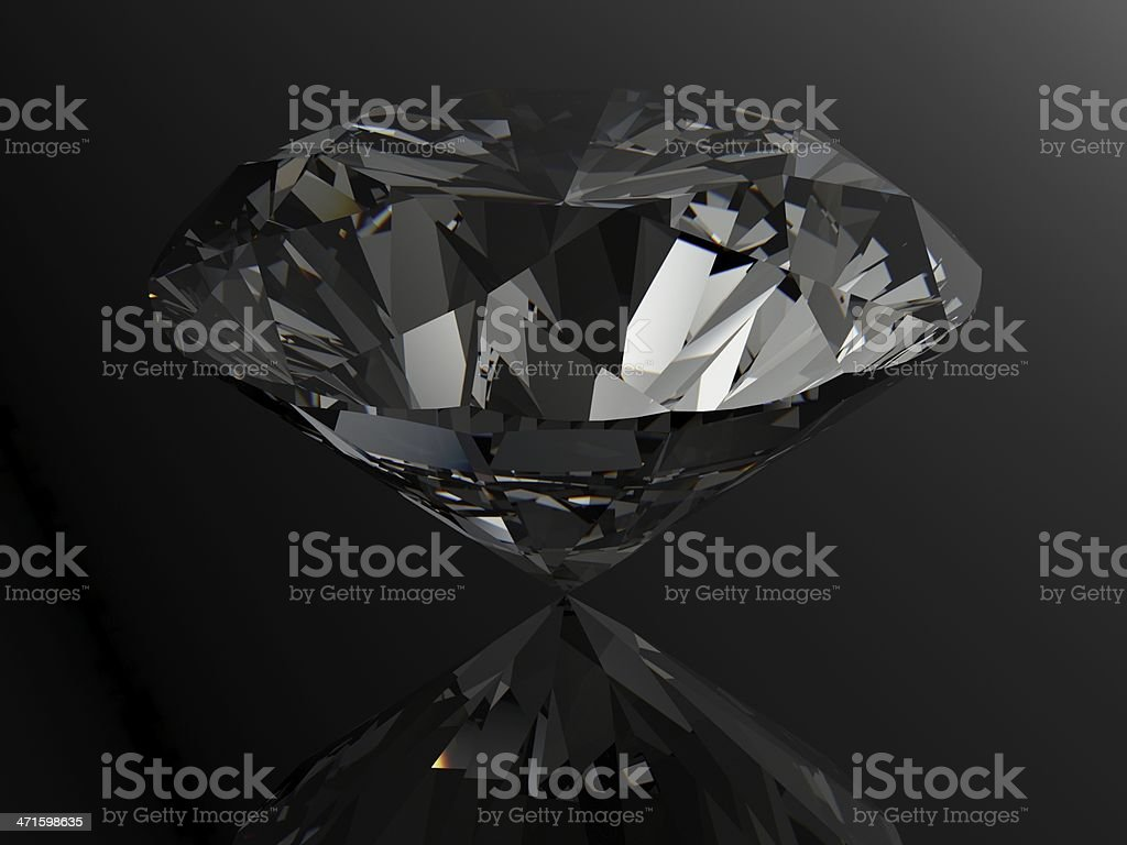 diamond on white background with high quality royalty-free stock photo