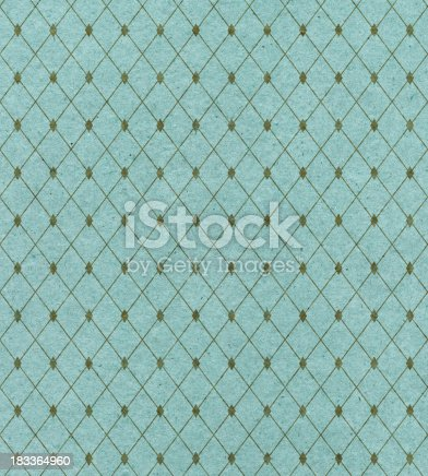 istock A diamond pattern covers turquoise wallpaper 183364960