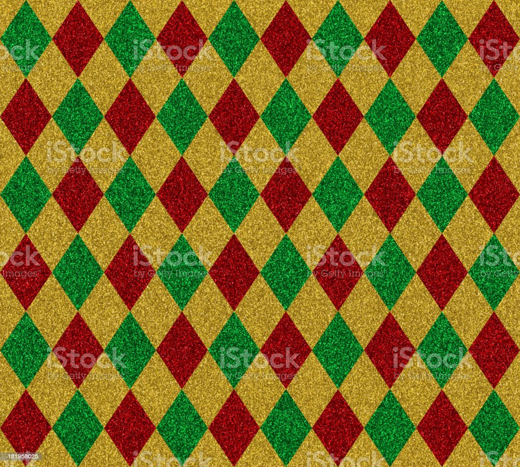 diamond pattern glitter paper royalty-free stock photo