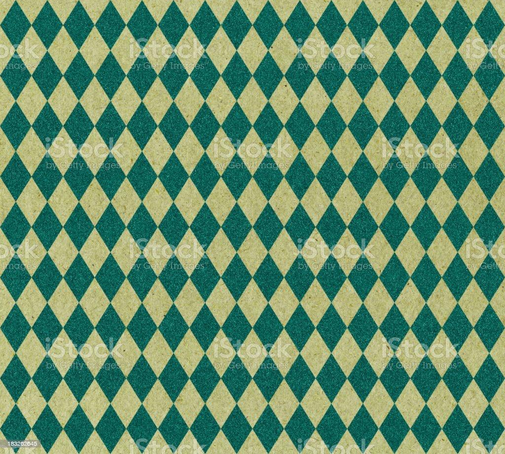 diamond pattern green glitter stock photo