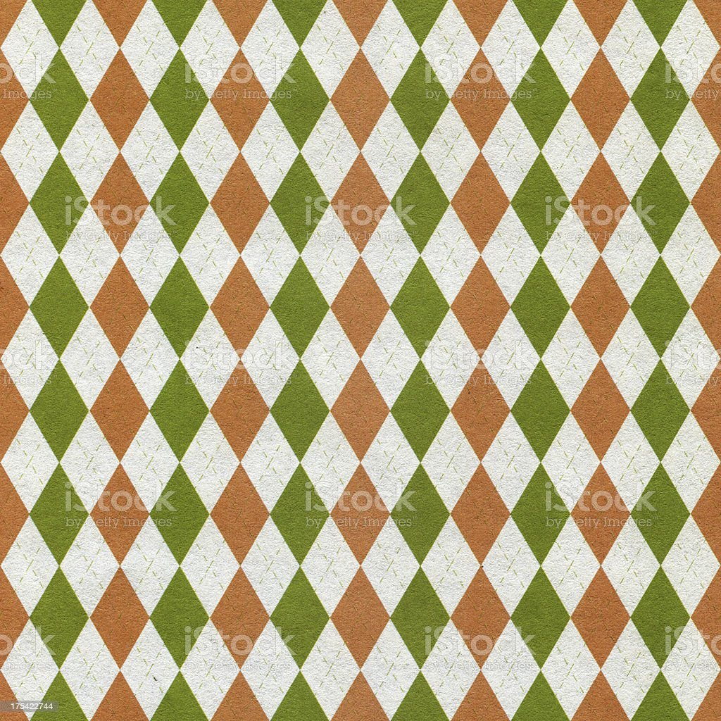 Diamond pattern paper texture stock photo