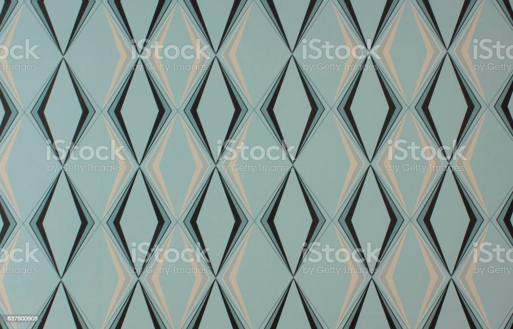 Diamond pattern wallpaper texture stock photo