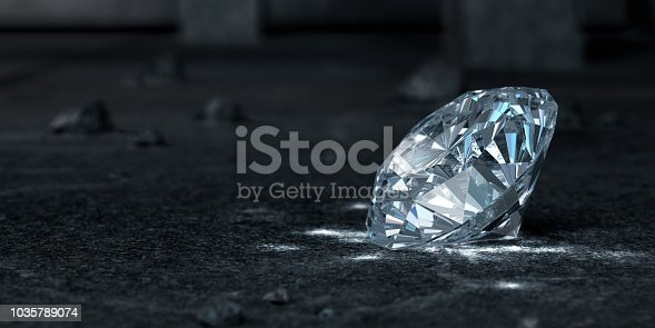 Diamond. 3D Render