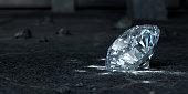 Diamond. 3D Render