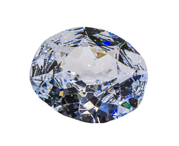 diamond - europäisch geschliffene diamanten stock-fotos und bilder