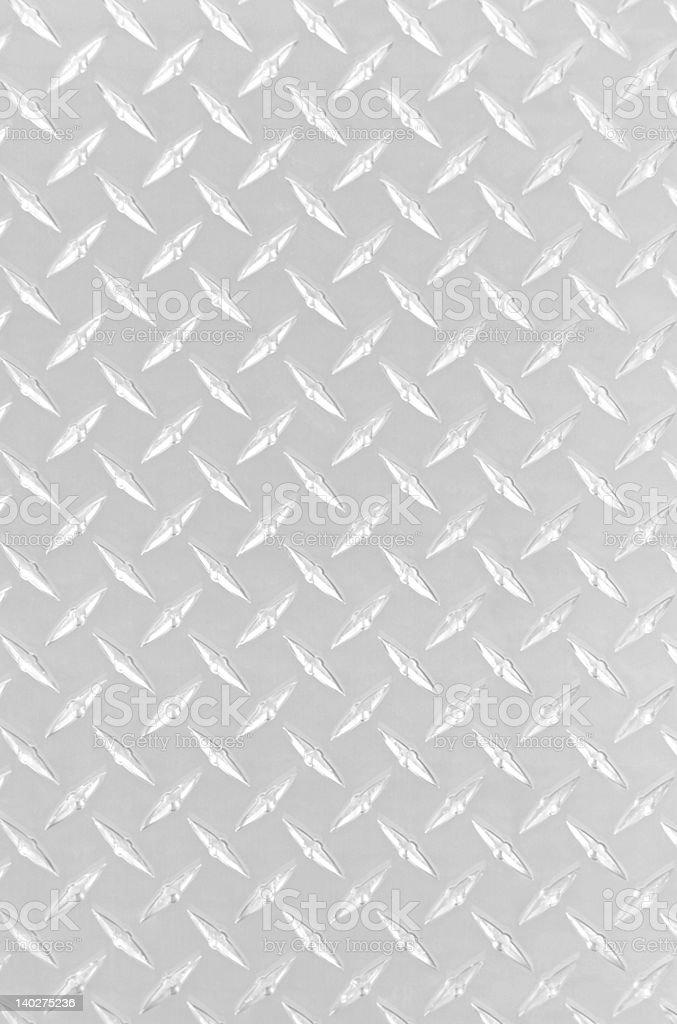 Diamond Plate Bright stock photo