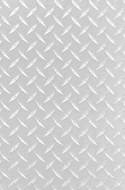 diamond plate bright - diamond plate background stock photos and pictures