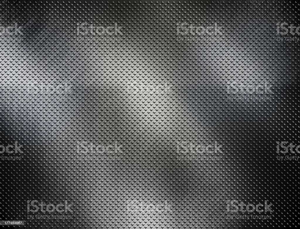 diamond plate metal royalty-free stock photo