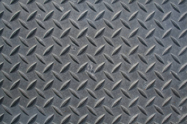 diamond plate - diamond plate background stock photos and pictures
