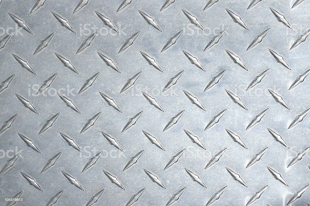 Diamond plate steel texture royalty-free stock photo