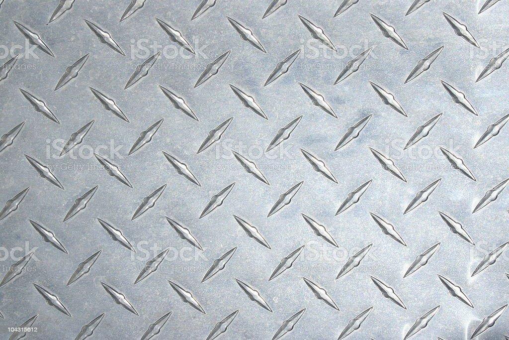 Diamond plate steel texture stock photo