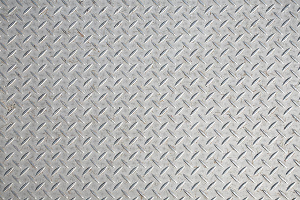 diamond plate texture - diamond plate background stock photos and pictures