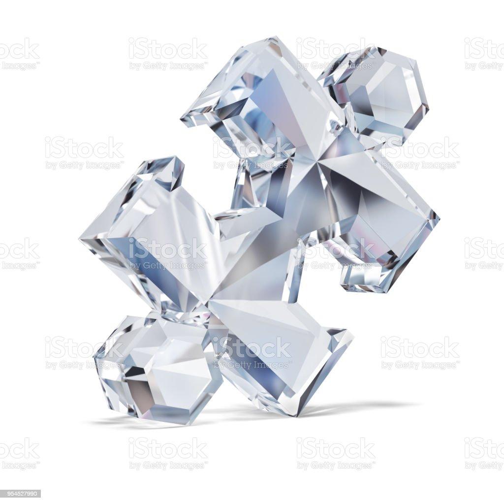 diamond puzzle стоковое фото