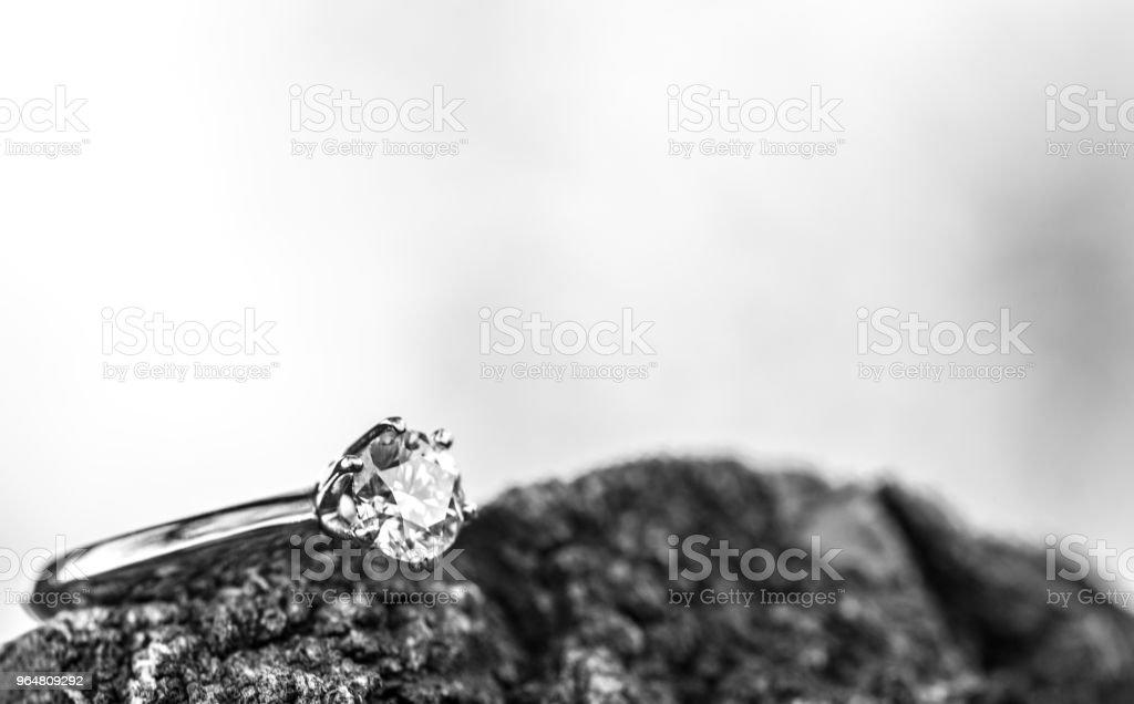 Diamond Ring Close up royalty-free stock photo