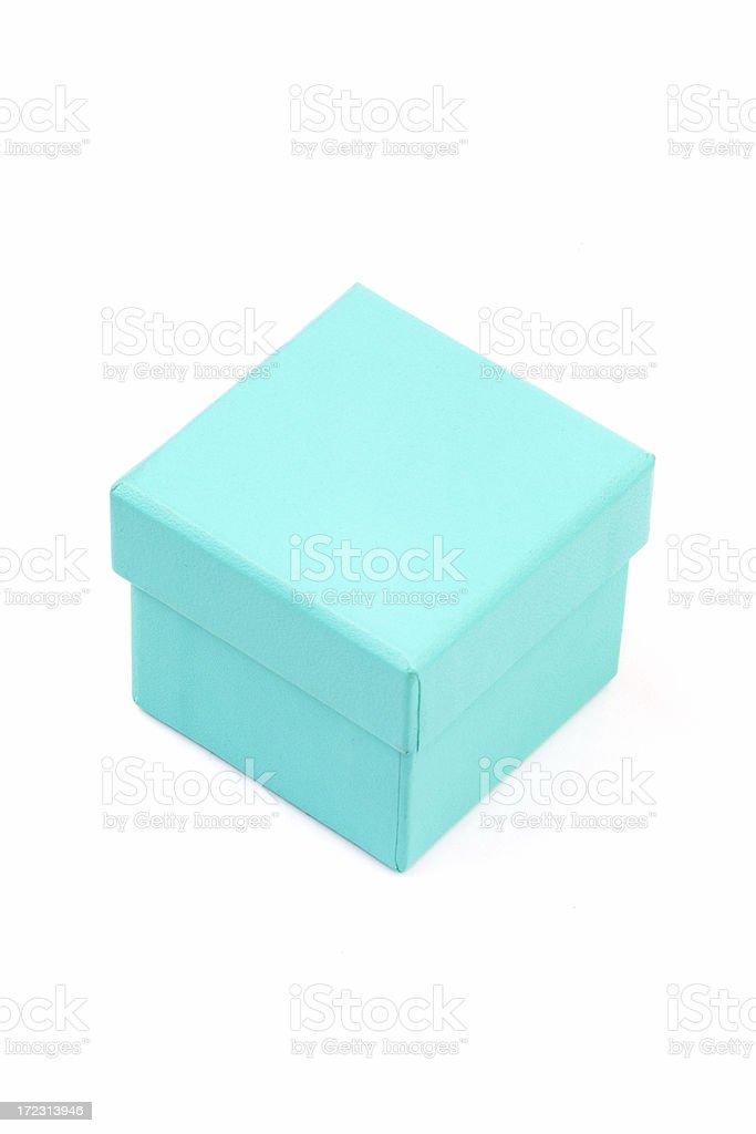 Diamond Ring Gift Box stock photo
