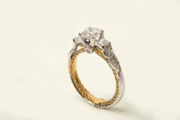 Diamond Ring stock photo