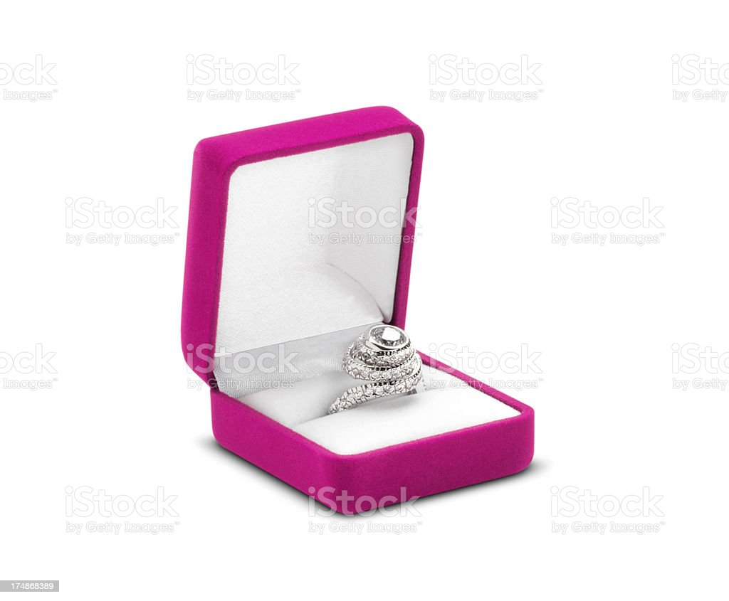 Diamond Ring (Click for more) royalty-free stock photo