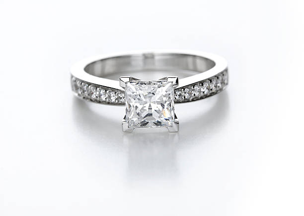 Best Wedding Rings White Background Stock Photos Pictures