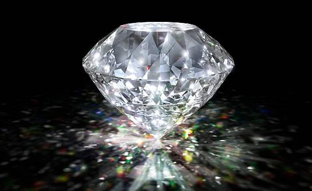 diamond spectrum - diamond gemstone stock photos and pictures