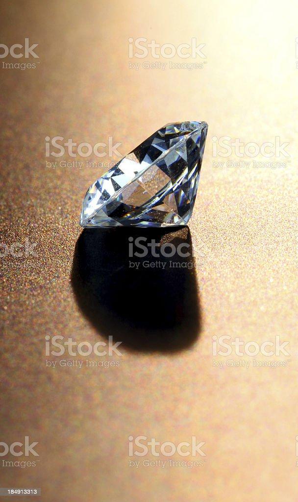 Diamond Stands Alone stock photo