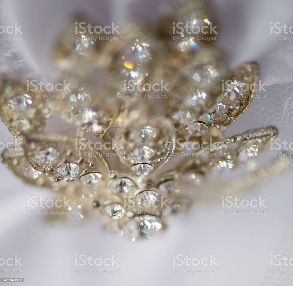 Diamond star stock photo