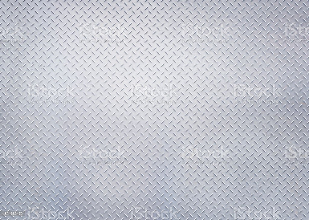 diamond steel, sheet, panel, plate, wall, floor, blue tinted, light toned, stock photo