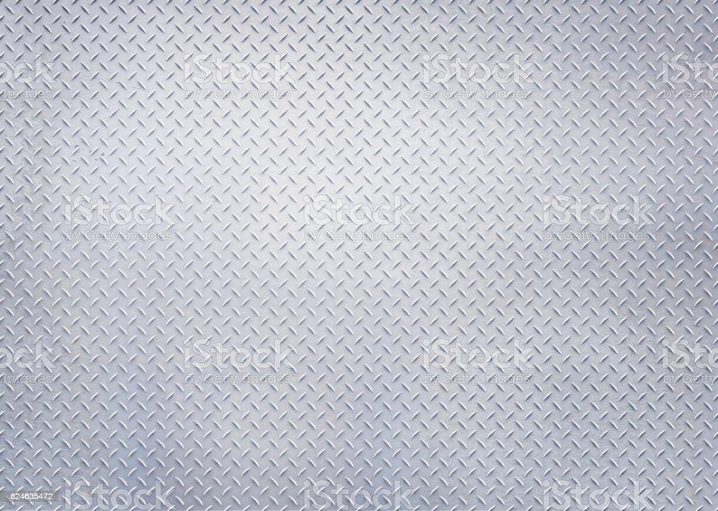 diamant en acier, tôles, panneau, plaque, mur, plancher, bleu teinté, lumière, tonifié, - Photo