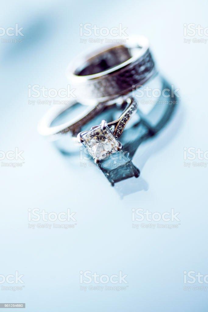 Diamond Hochzeitsringe – Foto