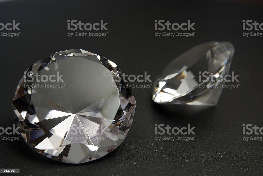 Diamonds are girls best friend royalty-free stock photo