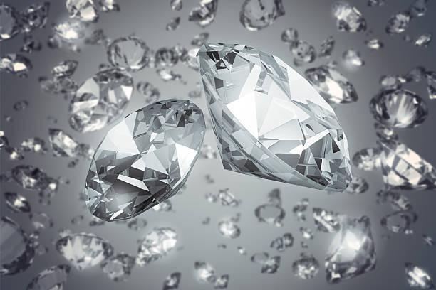 Diamanten fallen – Foto