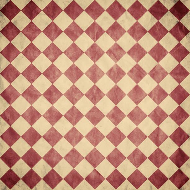 Diamonds pattern in vintage retro style. Background stock photo