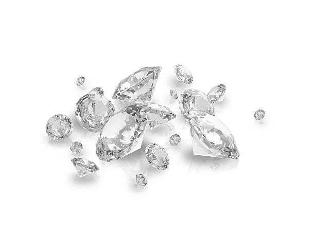 carreau - diamant pierre précieuse photos et images de collection
