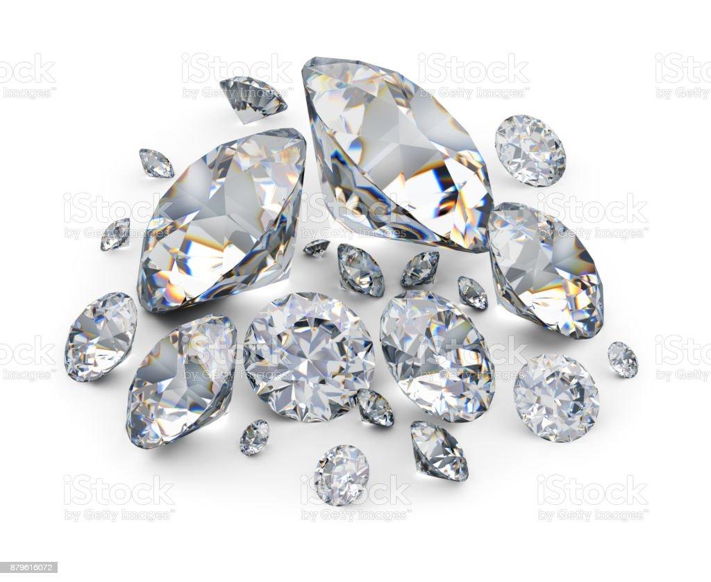 diamonds стоковое фото