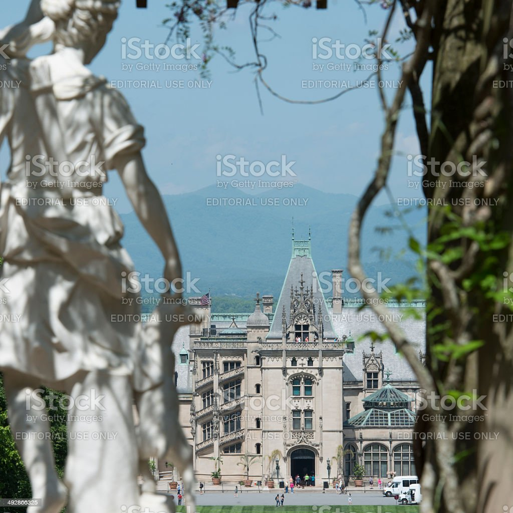 Diana Watches Over Biltmore royalty-free stock photo