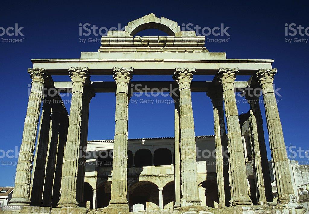 Diana's Temple royalty-free stock photo