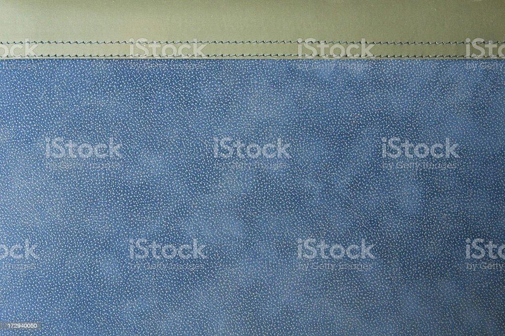 Diary leather photo album blue stock photo