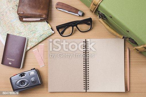 627291036 istock photo Diary travel concept 504785876