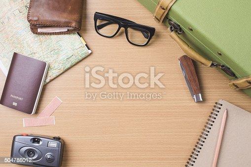 627291036 istock photo Diary travel concept 504786012