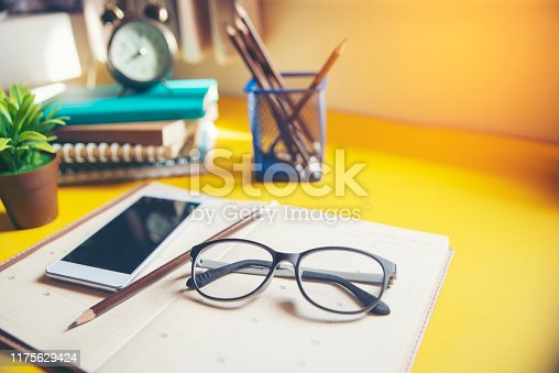 923430302 istock photo Diary,Calendar and agenda for Planner 1175629424